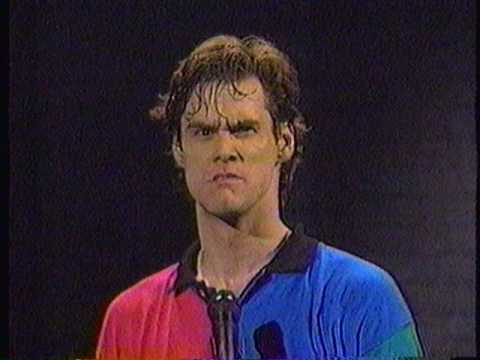 Jim Carrey - Faces - Unatural Act - 1991 Music Videos