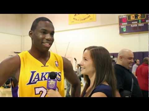 Jodie Meeks Talks About Backing Up Kobe Bryant