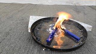 EXPERIMENT : Gillette Razors vs Kerosene