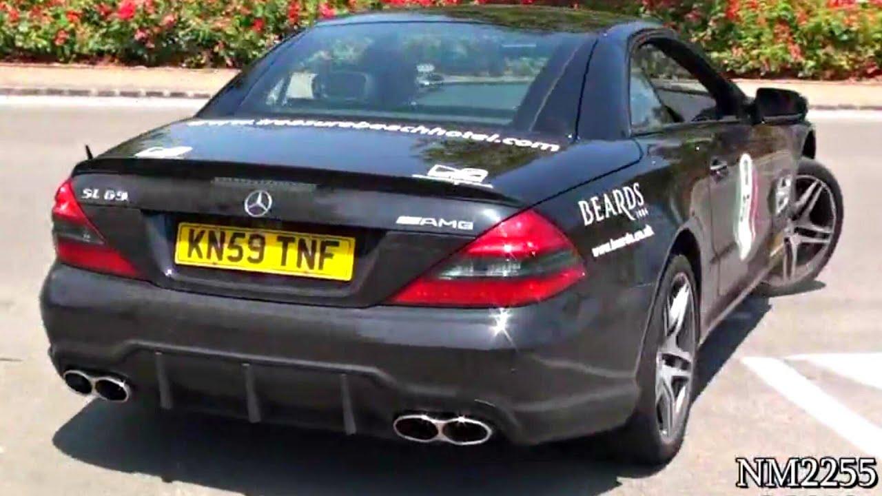 Mercedes sl65 amg v12 twin turbo amazing sound youtube for Mercedes benz v12 twin turbo