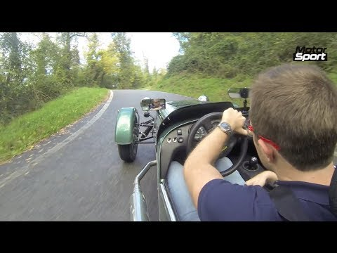 Caterham Seven 165 TEST DRIVE Part 2 : hot or not ? (Motorsport)