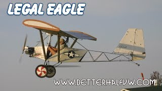Legal Eagle Ultralight, Part 103 Legal Ultralight Aircraft, Leonard Milholland's Legal Eagle.