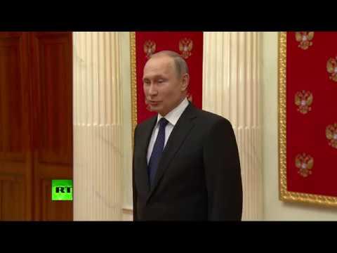 Хочу поздравить журналистов RT и Sputnik: Путин о резолюции Европарламента