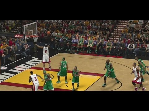 NBA 2K13 - Dunking Tutorial: 360 Dunks, Between The Legs 360 Dunk, Alleyoop To Self Dunk & More