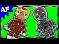 Lego Avengers Iron Man VS Ultron 76029 Marvel Super Heroes Stop Motion Build Review