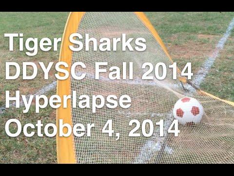 Tiger Sharks DDYSC Fall Soccer Hyperlapse, October 4, 2014