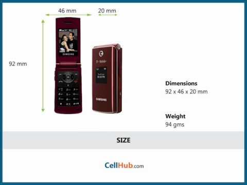 Samsung SGH-T339 Video clips