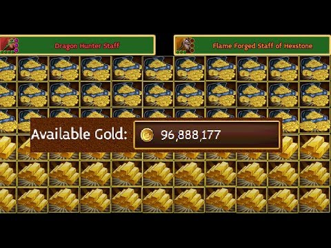 Arcane Legends | Solo Gold Farming 190% Gold Loot Insane!