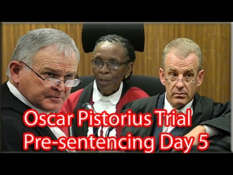 Oscar Pistorius Pre-Sentencing Arguments: Friday 17 October 2014, Session 1