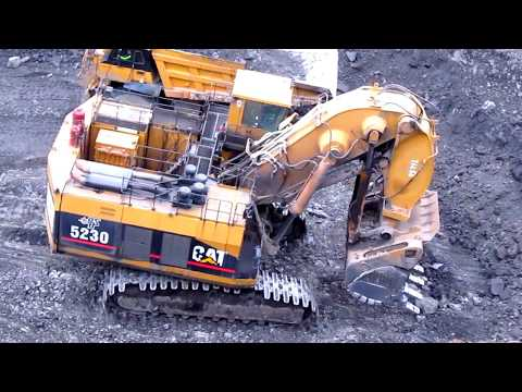 Caterpillar 5230 Ramping Down