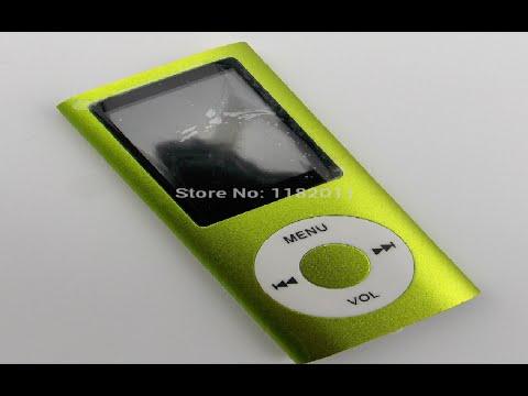 Xaricdən  mallar sifariş №100 32GB Slim 1 8 LCD MP3 player FM radio video MP3 MP4 Aliexpress com