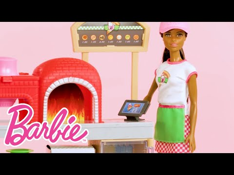 Unboxing Barbie® Pizza Chef Dolls and Playsets Cooks Up Fun | Barbie®