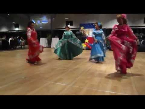 La Jota Moncadena Performed By The Philippine Dance Ensemble At The National Day Ball 2013 video