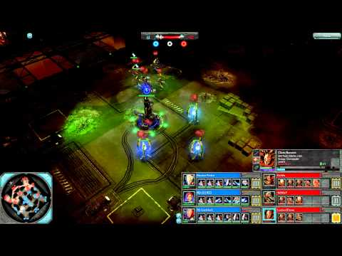 DoW2: Retribution — 3v3 | Faction War — Eldar [vs] Chaos | 2