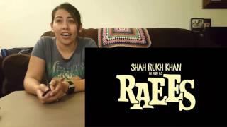 Raees Teaser Cynthia's Reaction Shah Rukh Khan I Nawazuddin Siddiqui I Mahira Kha
