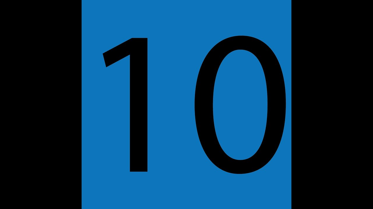 Skip Counting By 10 Song Video