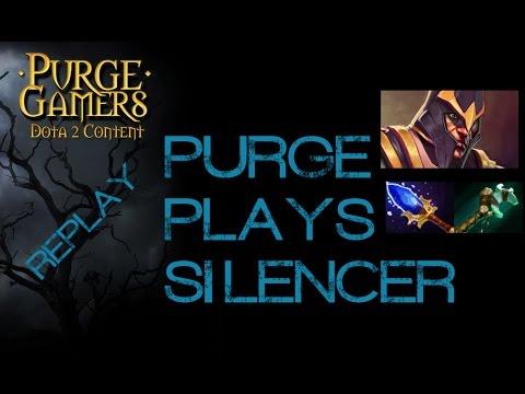 Dota 2 Purge plays Silencer