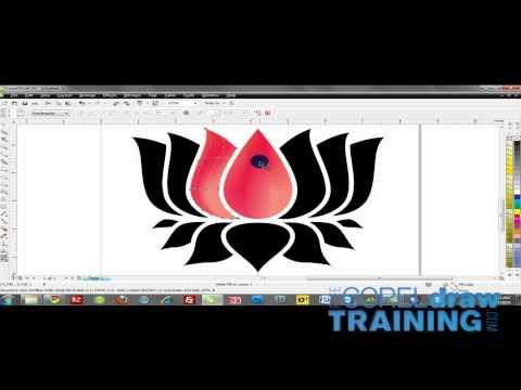 CorelDRAW Training Videos: Mesh Fill tool