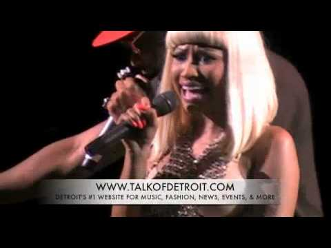 Nicki Minajpart Special on Comyoung Jeezy   Nicki Minaj Concert In Detroit At Chene Park Part 2