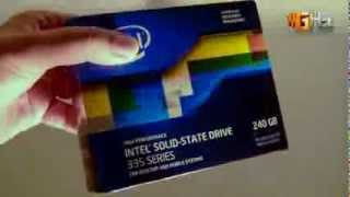 Intel SSD 335 Series 240GB Unboxing