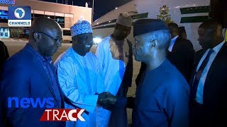 Osinbajo Depart For US, To Meet With Pence