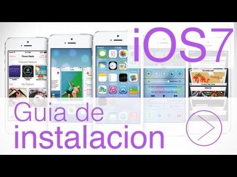 Guia de Instalacion iOS7 BETA