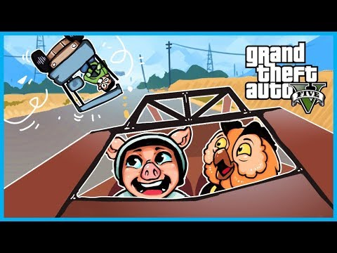 GTA 5 Online The Doomsday Heist! - The FUNNIEST GTA 5 Clip EVER!! (Epic Golf Cart Launches) (Part 5) | GTA 5 Online Funny Moments
