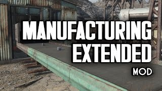 Manufacturing Extended Mod - New Forges, Hoppers, & Conveyors