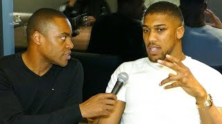 EXCLUSIVE: Anthony Joshua since KLITSCHKO FIGHT, EXPLAINS KNOCK DOWN!
