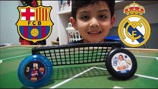 Canal do Gu ! - Barcelona x Real Madrid - Futebol de Botão
