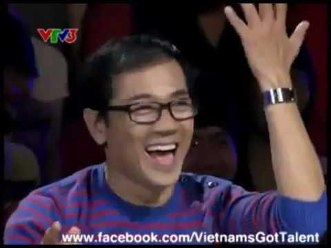 Vietnam's got talent 2012 - Khán giả shock thí sinh đặc biệt Phương Anh hát Let's Dance