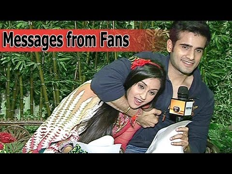 Krystle and Karan Read Messages From Fans