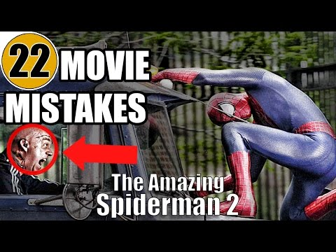 22 Mistakes of THE AMAZING SPIDER-MAN 2 You Didn't Notice