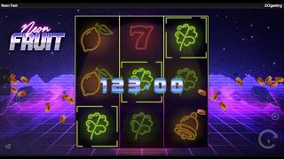 Payout - Neon Fruit (1X2gaming)