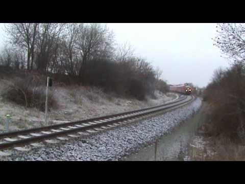 BR 612 tilting (Neigebetrieb) in Heudeber, Germany