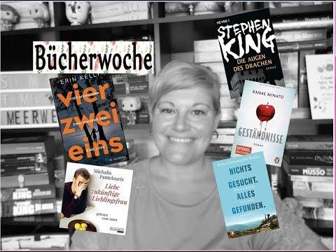 Bücherwoche #30+31 ~ Highlights in Buch und Film, Neues Handy, Blutmond, Urlaub naht