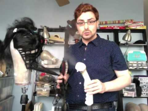 Tutorial - Steaming Synthetic Wigs For Drag. Theater. Opera and Cosplay