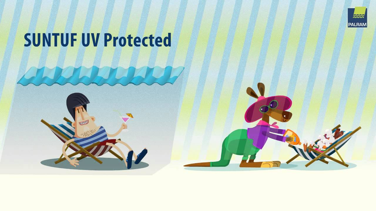 Complete UV Protection with SUNTUF