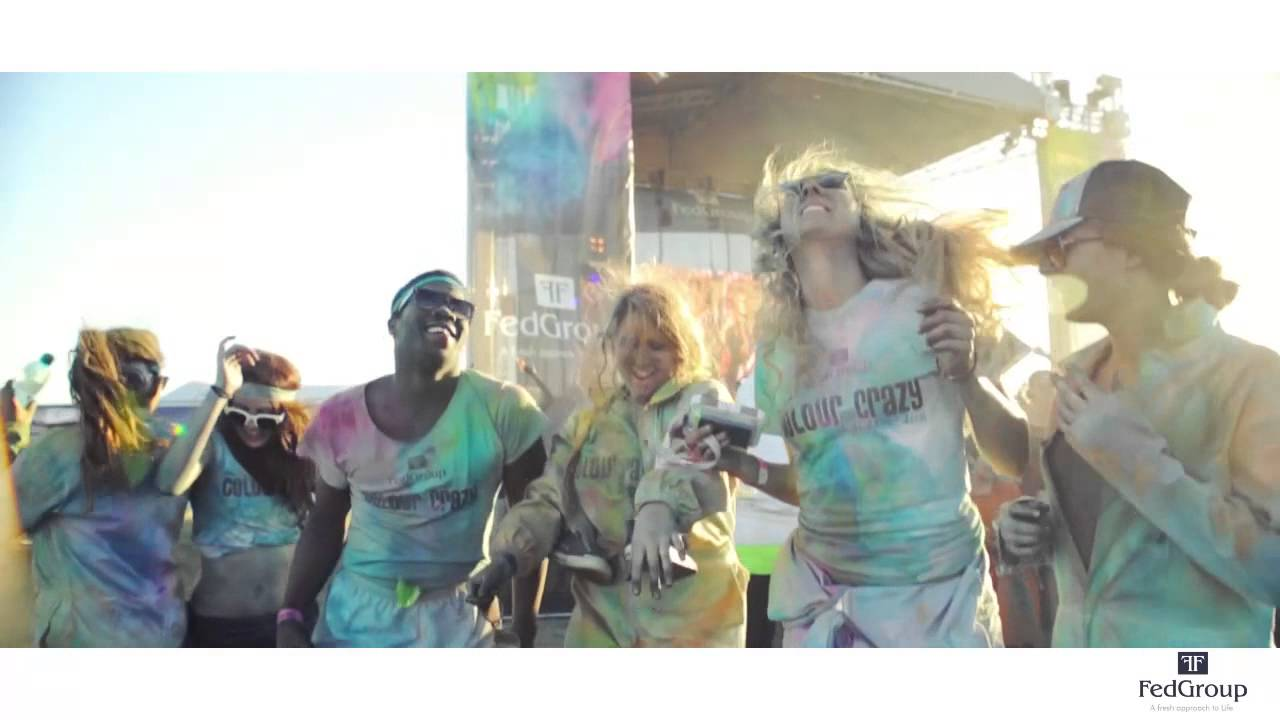 Crazy Colours Fedgroup Colour me Crazy Cape