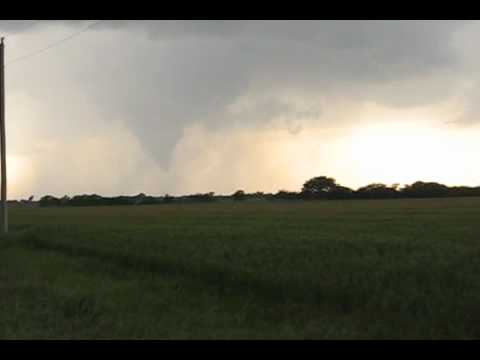F1 tornado near Tonkawa, OK