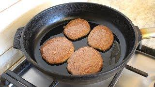 Печеночные Оладьи или Котлеты из говяжьей печени рецепт