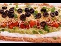 7 Layer Dip:Recipe:Mexican Bean: Easy! Super Bowl:…