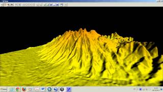 Global Mapper Volcan Copiapo GDEM