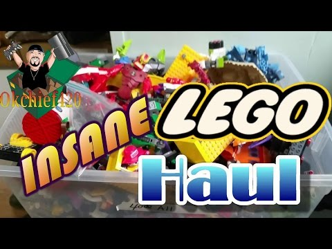 Okchief420 Toy Hunting EP. 57 INSANE LEGO HAUL OVER 100 LEGO FIGURES