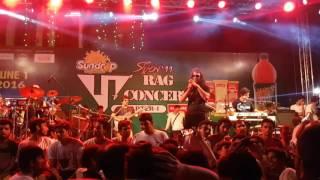 Ark (Hasan) - Aaj Ei Meghe Dhaka Raat (আজ এই মেঘে ঢাকা রাত) [Live at BUET] [June 01, '16]
