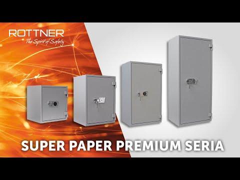 Super Paper Premium - Sejf ognioodporny