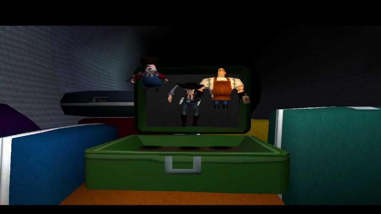 Toy Story 2 Walkthrough Level 15 Prospector Showdown Hd