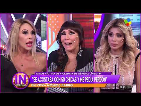"Mónica Farro denunció al ""Negrito"" Luengo: ""Me pegaba y después me consolaba"""
