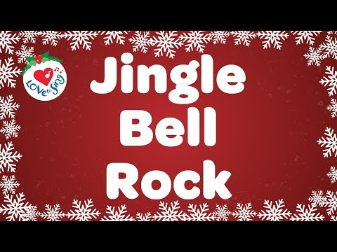 Jingle Bell Rock With Lyrics | Christmas Songs and Carols | Children Love to Sing