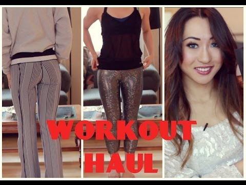 Workout and Athletic Clothing Haul: Lululemon, Bebe, Target, Victoria's Secret